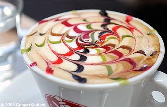KÁVA: Dokonale cappuccino s lidskou tvari