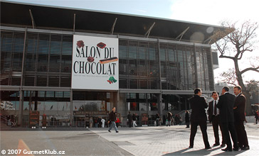REPORTÁŽ: Salon du Chocolat 2007 – Paris